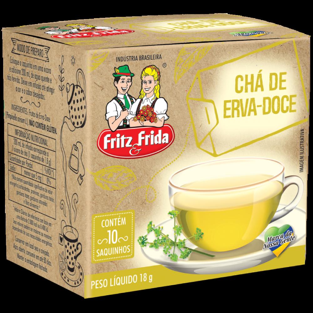 CHÁ DE ERVA DOCE 18G