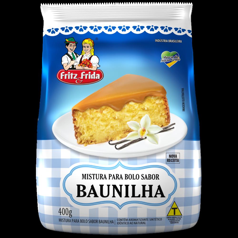 MISTURA PARA BOLO DE BAUNILHA 400G