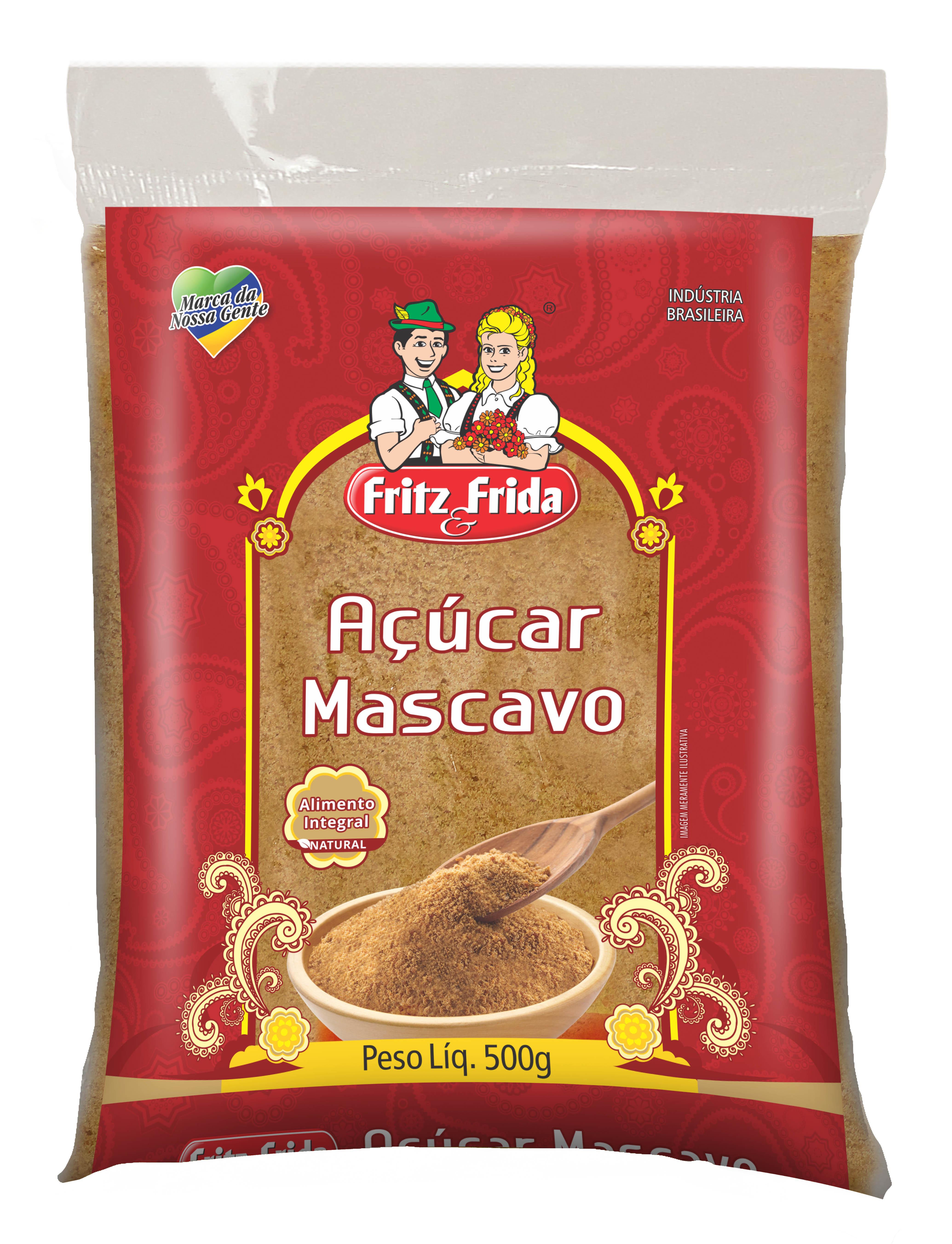 ACUCAR MASCAVO 500G