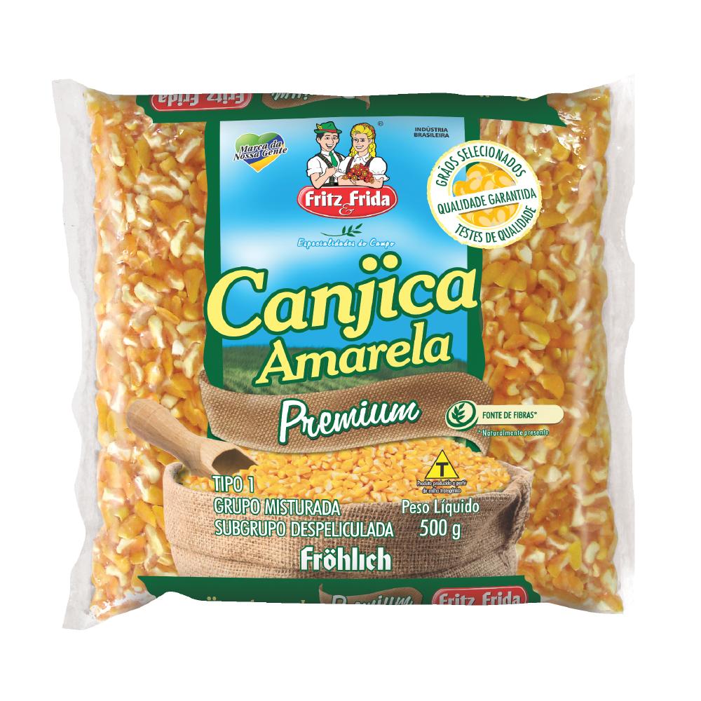 CANJICA AMARELA PREMIUM 500G