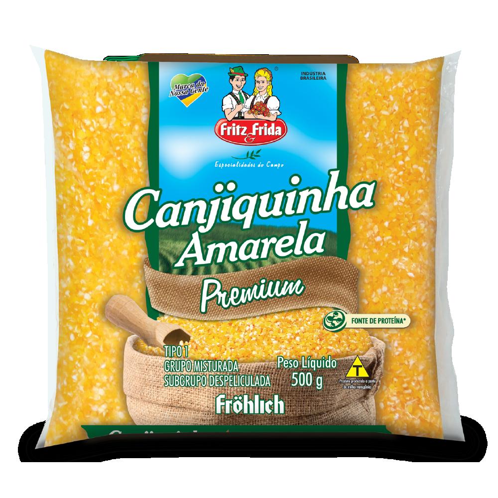 CANJIQUINHA AMARELA 500G