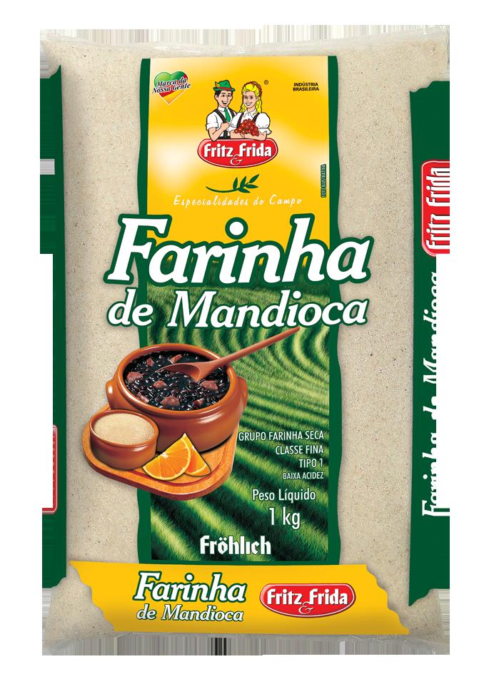 FARINHA DE MANDIOCA 1KG