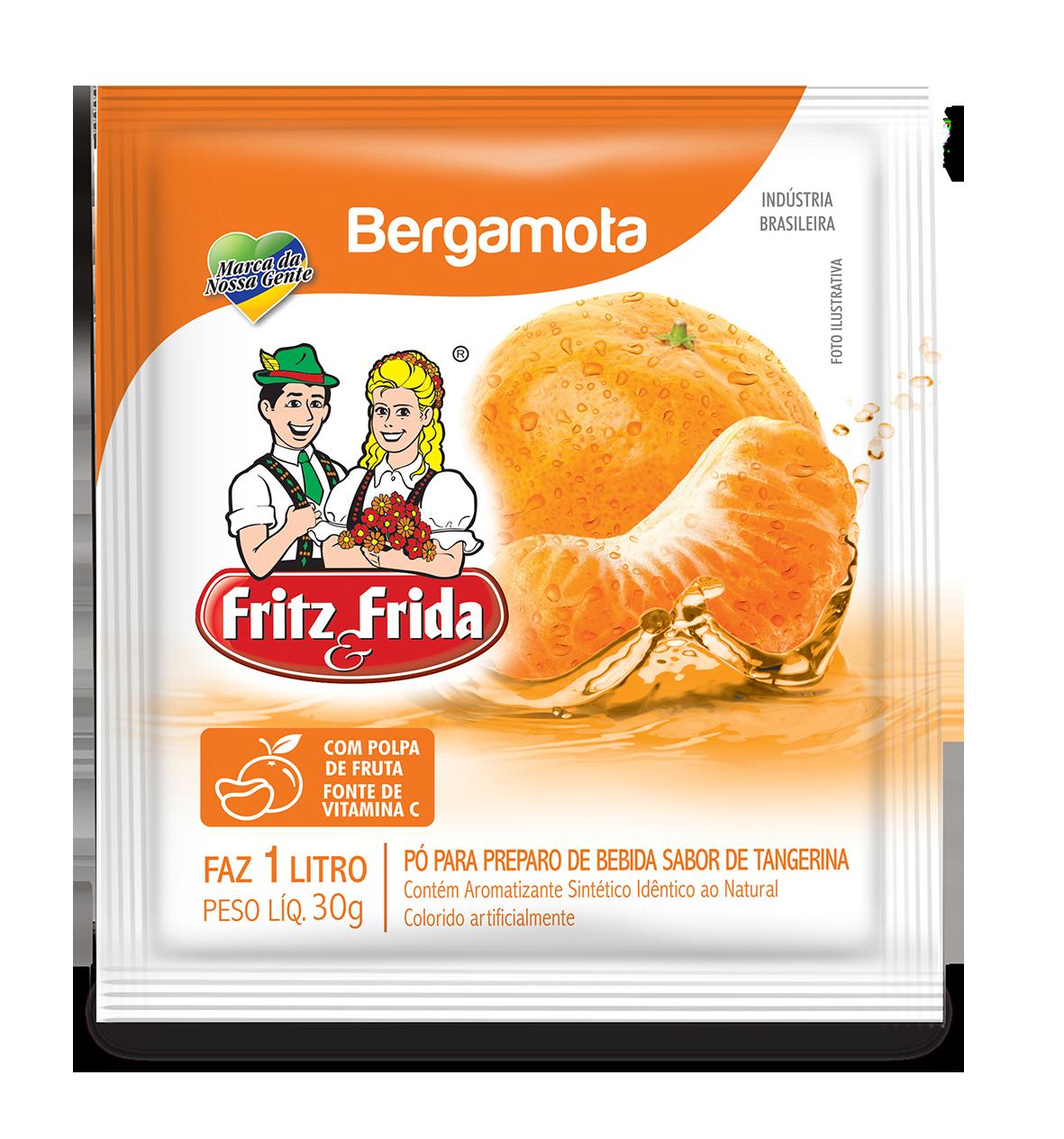 REFRESCO DE BERGAMOTA 30G