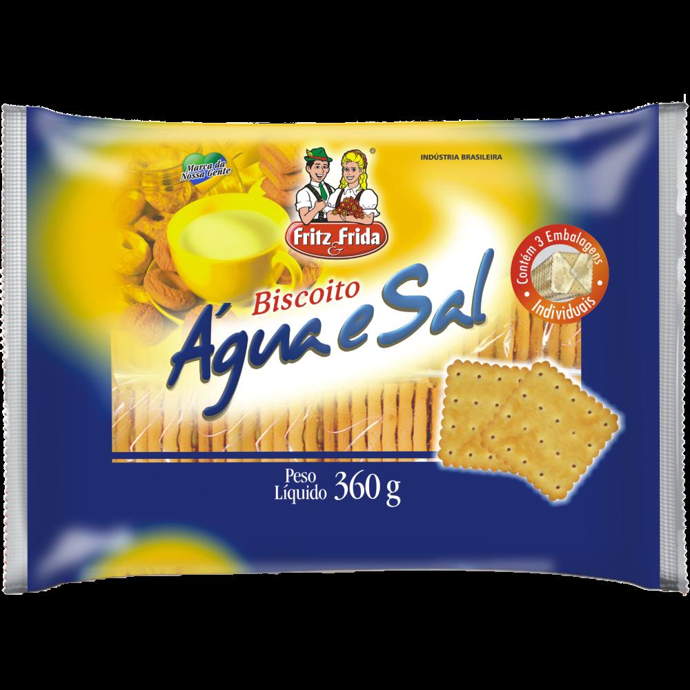 BISCOITO AGUA E SAL 360G