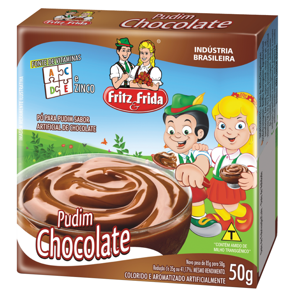 PUDIM DE CHOCOLATE 50G