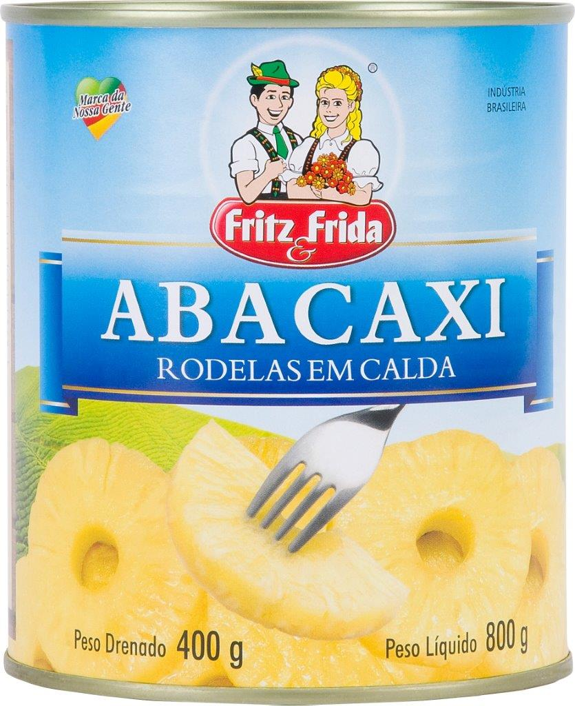 ABACAXI RODELAS 400G