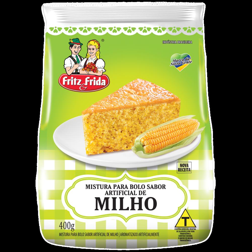 MISTURA PARA BOLO DE MILHO 400G