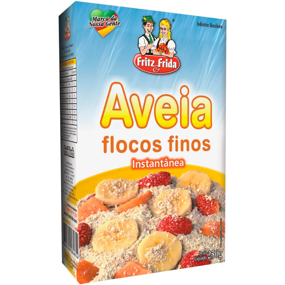 AVEIA FLOCOS FINOS 250G