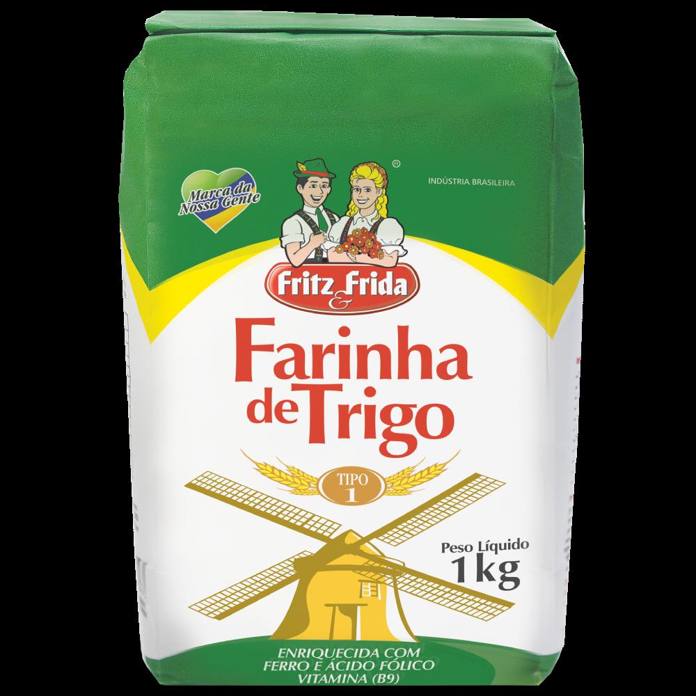 FARINHA DE TRIGO 1KG