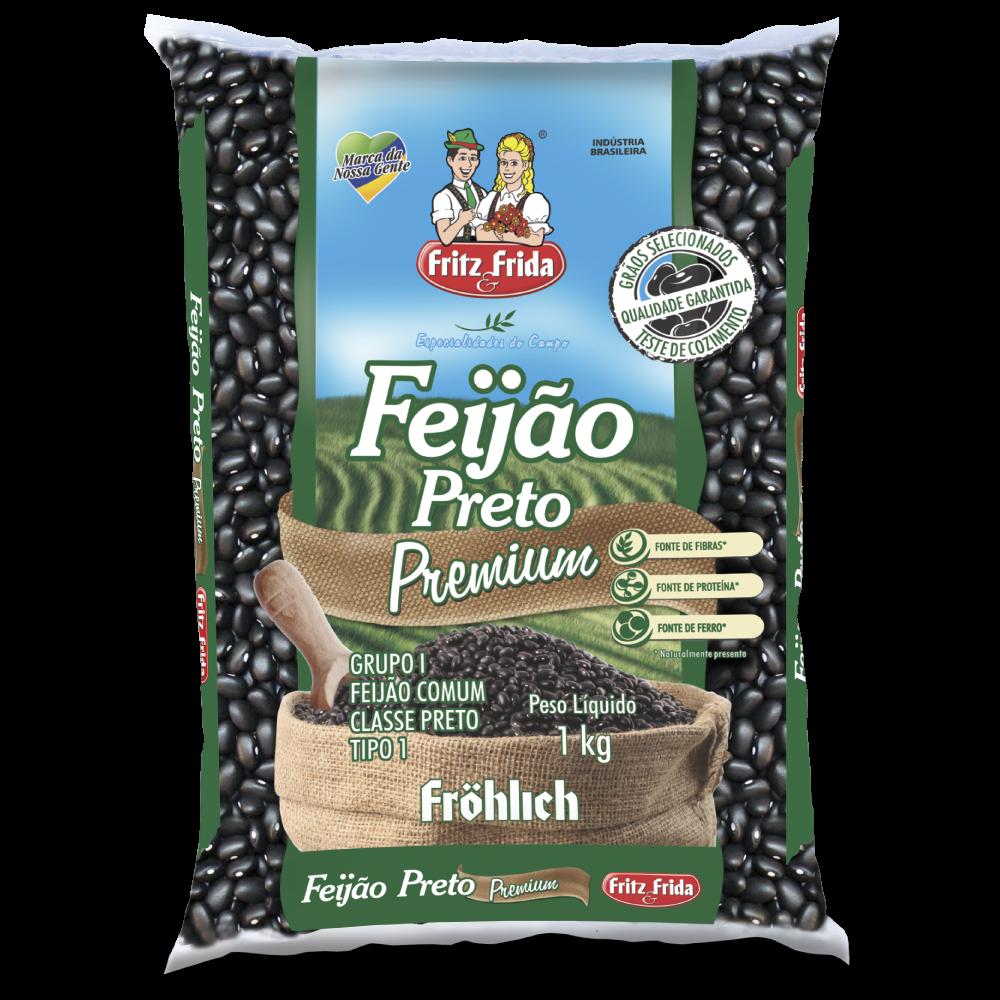 FEIJAO PRETO PREMIUM T-1 1KG