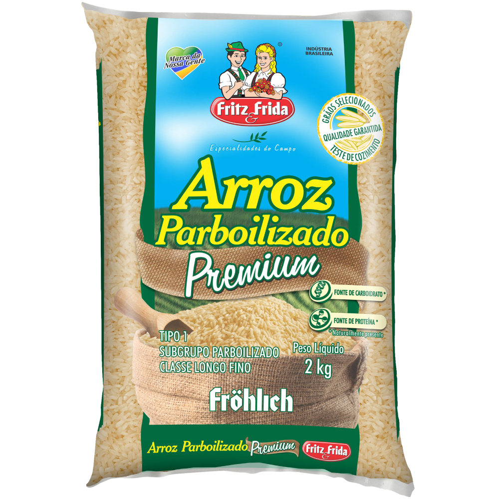 ARROZ PARBOILIZADO 2KG